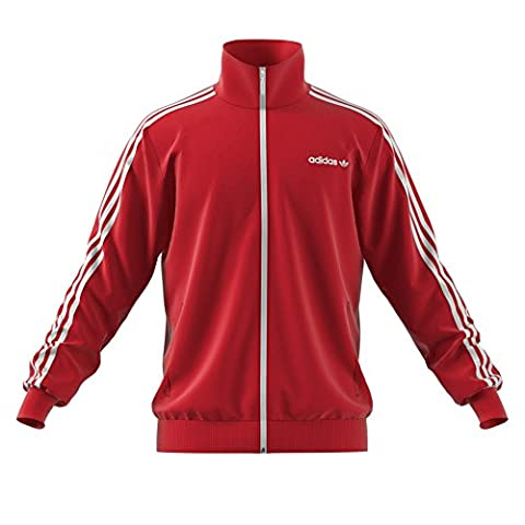 adidas Bb Tracktop Sweat Homme, Red/Rojint, L