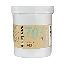 Naissance Aloe Vera Gel (#707) 1kg - Cruelty-Free and Vegan - Cooling, Soothing and Moisturising for All Skin Types