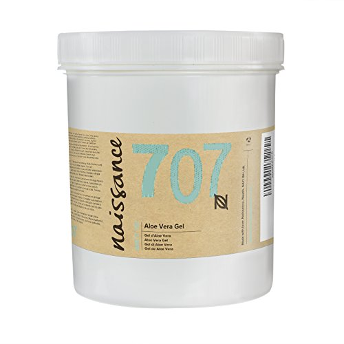 Naissance Aloe Vera Gel (no. 707) 1kg - Cruelty Free and Vegan - Cooling, Soothing and Moisturising for All Skin Types