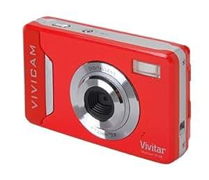 """Vivitar ViviCam 9126 Red (9.1 Mega Pixels, 4x Digital Zoom, 2.4"""" Preview Screen, Auto Flash)"""
