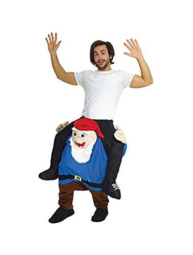 Tragen Witzig Kostüm Unisex - Gnom Mit selbst füllen Beine (Gnom Kostüm)