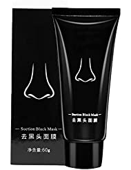 Masque de antidérapant nettoyage en profondeur de bambou Masse de nettoyage profond Suppression de l'acné et des impuretés Blackhead Remover Masque Facial à contrôle d'huile Masque de punaises de rétrécissement