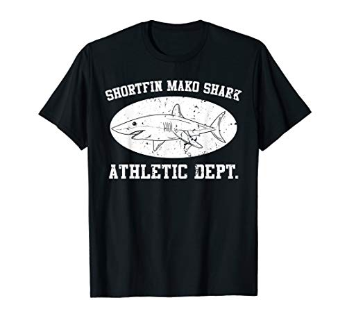 Shortfin Mako Shark Athletic Department Science Week Gifts T-Shirt -