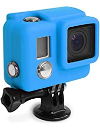 Protection Silicone X-Sories Silicone Cover Hero 3 Plus Bleu (Default , Bleu)