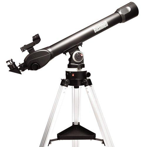 Bushnell Voyager SkyTour Refractor - Telescopio, 60 mm x 700 mm, negro