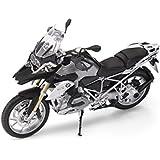 BMW–Figurita de moto r 1200GS Thunder Grey (escala 1:10)