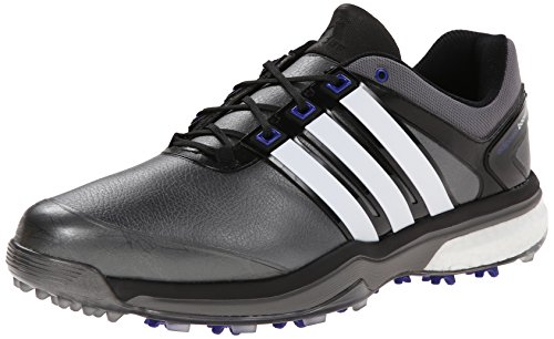 adidas Men s Adipower Boost Golf Shoe Dark Silver Metallic/Running White/Night Flash 9.5 D(M) US