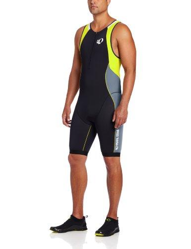 PEARL IZUMI Elite In-R-Cool Tri Suit Triathlon Body/Einteiler schwarz/gelb 2015: Größe: XL (54/56)