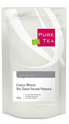 China White Yin Zhen Silver Needle (100g) - Ein besonderer Weißer Tee, der die Sinne verzaubert