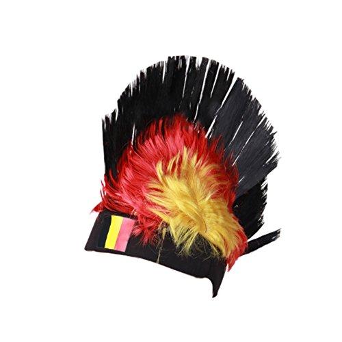 ke Belgien Fahne, Moresave Fußball Fans Nationalflagge Headwear Party Fasching Karneval Stirnband Kostüm (Entwerfen Von Frauen Kostüm)
