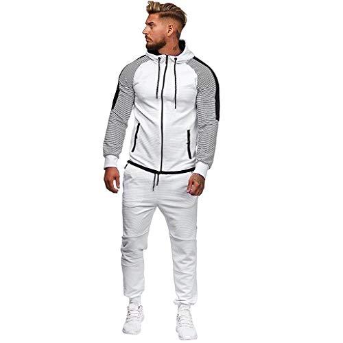 Skeleton Sweatshirt Hoodie Kind Kostüm - Setsail Herren Herbst Trend Gradient Zipper