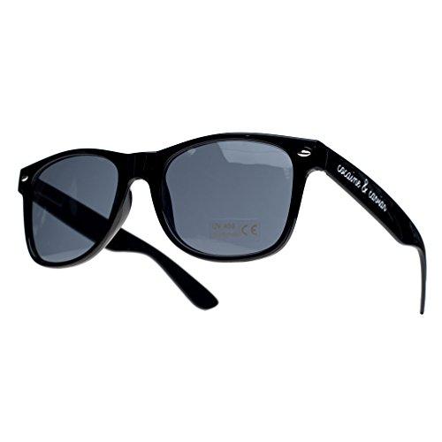 4sold Damen Sonnenbrille Schwarz schwarz, Schwarz
