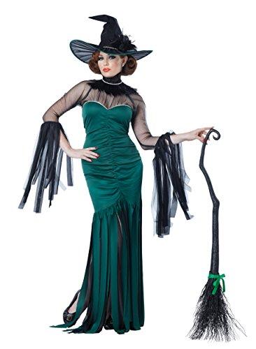 Mächtige Zauberin Kostüm für Erwachsene