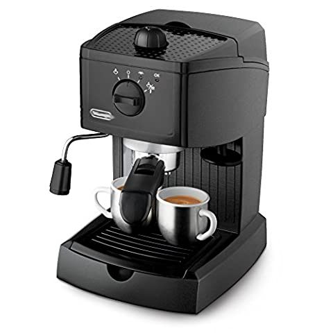 Italian Semi - Automatic Coffee Machine Household Commercial Steam Milk Bubble,Black