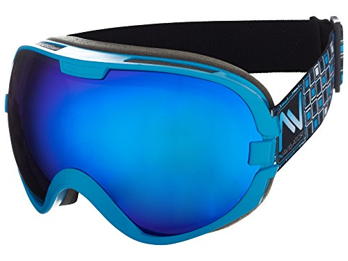 Navigator omega occhiali da sci e snowboard, unisex/-taglia unica, diversi colori (blu)