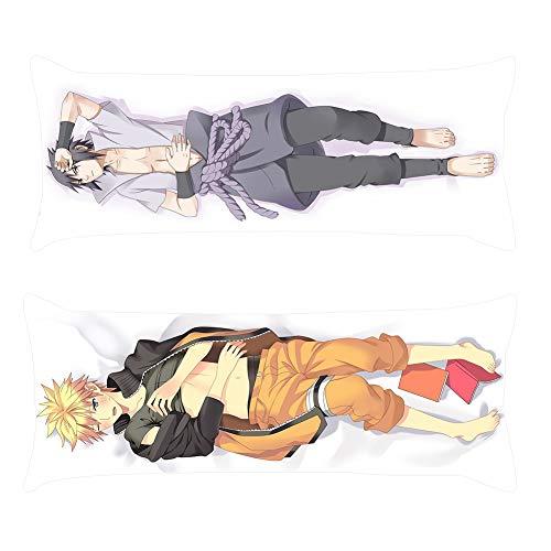 Gyrate Anime Naruto Sasuke Itachi Kissenbezug, umschließt Körper, Cosplay Style01 (Anime Kissenbezug Körper)