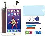 "AUODA Pantalla Táctil LCD para iPhone 6 (4.7"") Táctil Reemplazo Marco Digital Conjunto Completo &Vidrio Protector (Blanco)"