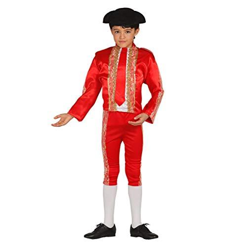 Torero Stierkämpfer - Kostüm für Jungen Gr. 98 - 146, Größe:140/146
