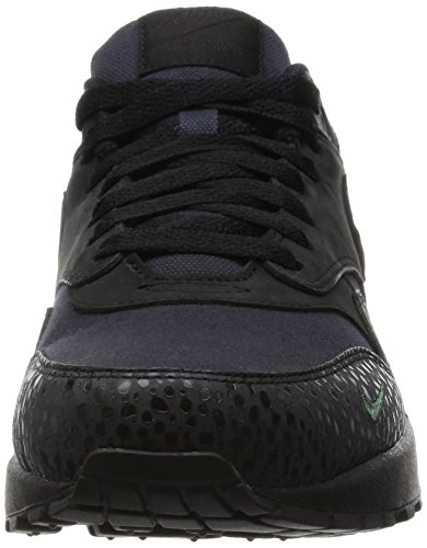 Nike Herren Air Max 1 Prm Laufschuhe Black (Schwarz / Schwarz-Bonsai)