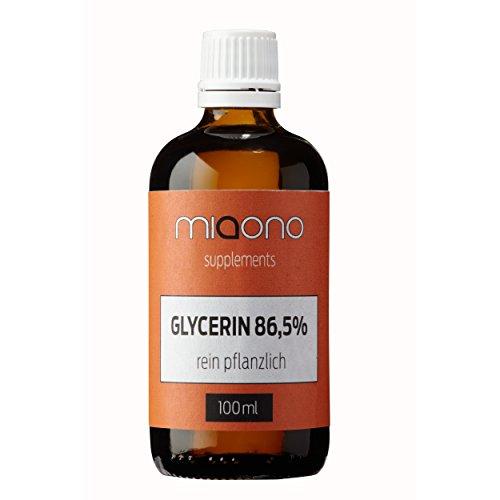 Glycerin 100ml - rein pflanzlich von miaono (Reines Glycerin)