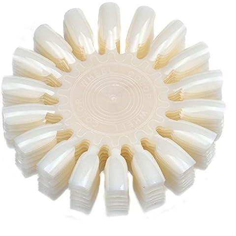 Sannysis® 10pcs del maquillaje de uñas muestras de color polaco carta de colores (beige)