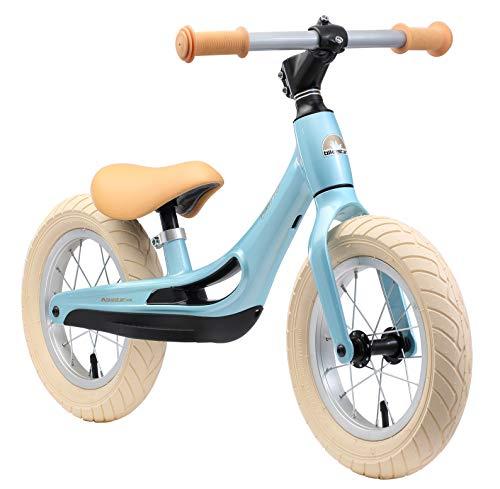 BIKESTAR Magnesium (superleicht) Kinderlaufrad Lauflernrad Kinderrad für Jungen und Mädchen ab 3 - 4 Jahre   12 Zoll Kinder Laufrad Cruiser Ultraleicht   Blau   Risikofrei Testen