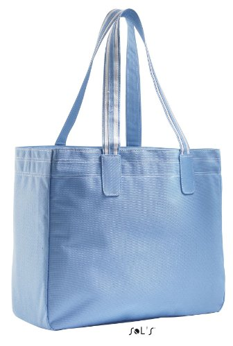 Shirtstown Shoppingbag Rimini, Shopper, Einkaufstasche, Umhängetasche, Schultertasche sky