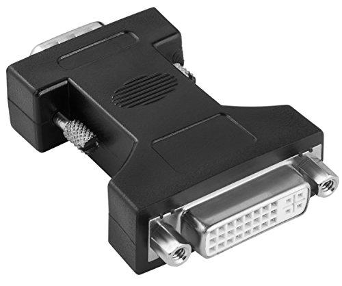 mumbi VGA/DVI Adapter - VGA Stecker an DVI Buchse -