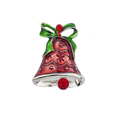 Kirche Pins (LUX Zubehör Weihnachten Urlaub Weihnachts Kirche Glocken Brosche Pin)