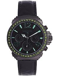 Lancaster 0633LZBKNRVR - Reloj de Señora cuarzo piel Negro