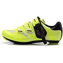 Tiebao - Zapatillas de Ciclismo de Sintético para Mujer
