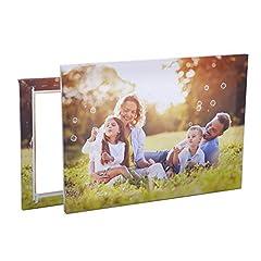 Idea Regalo - Stampa Foto su Tela | Personalizza con la Tua Foto e arreda Case, uffici e Locali - Comprende Telaio e Tela (20cm x 20cm)
