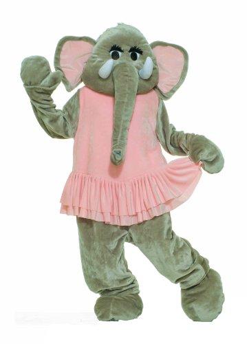 e Forum Deluxe Plüsch Elefant Maskottchen Tutu, Pink/Grau, One size (Maskottchen Kostüm Fancy Kleid)