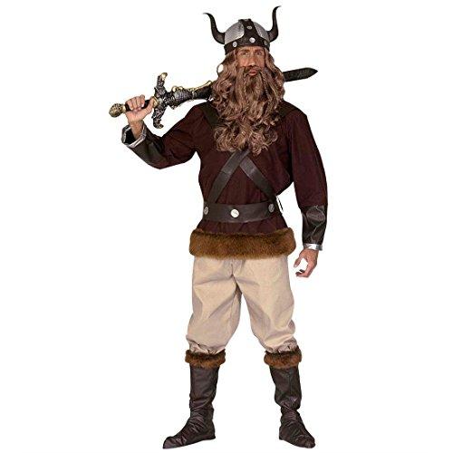 Disfraz de vikingo o bárbaro traje guerrero