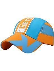 Feoya Gorra de Béisbol Ajustable de Algodón Sombrero Infantil de Protección Solar para Niños Niñas Primavera Verano