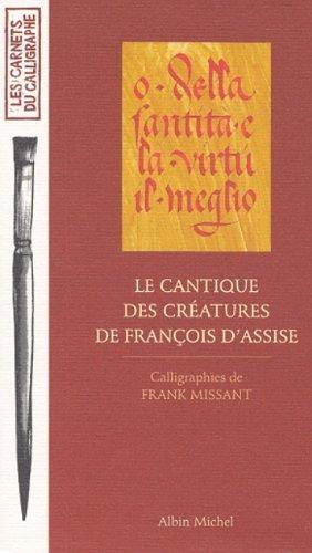 Le Cantique des créatures de François d'Assise