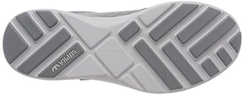 Supra Hammer Run, Sneakers Basses Homme Gris (Lt. Grey-white)