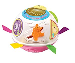 VTech Baby Crawl and Learn Lights Ball (Pink)