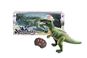 R/C Remote Control Dinosaur, Walks, Roars, Lights Up. Green