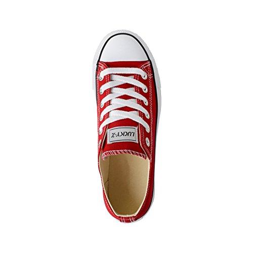 Elara - Sneaker Donna Rot