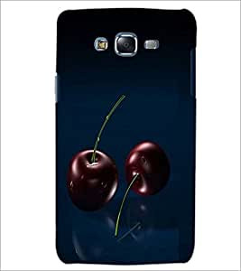 PrintDhaba Cherries D-1061 Back Case Cover for SAMSUNG GALAXY J7 (Multi-Coloured)