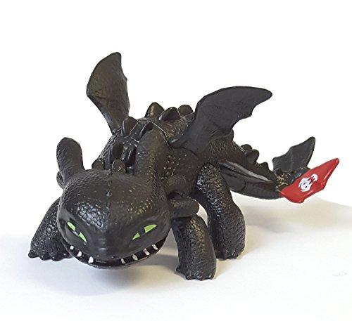 Dragons Mini Drachen Ohnezahn / Toothless