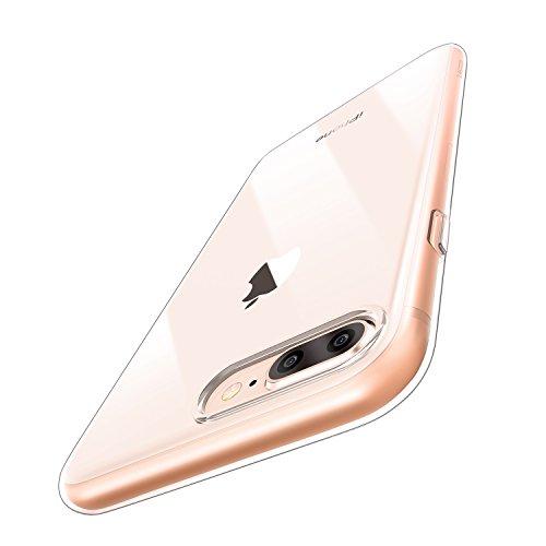 Funda iPhone 8 Plus/ 7 Plus, ESR Funda Transparente Suave TPU Gel...