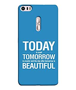 PrintVisa Designer Back Case Cover for Asus Zenfone 3 Ultra ZU680KL (6.8 Inch Phablet) (Today Tomorrow Sayings Wordings )