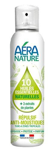 Repellente naturale anti-zanzare per aria e tessuti