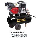 NUAIR Compresseur d'air à moteur thermique rÃservoir de 100 litres moteur essence HONDA de 9 CV