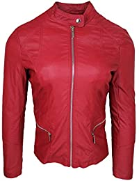 9dcbb6d28cd7a0 Amazon.it: giacca ecopelle - 3XL / Donna: Abbigliamento