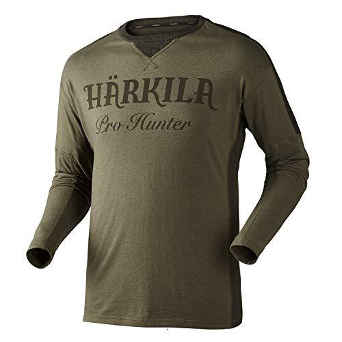 Härkila Pro Hunter L/S Jagdshirt   T-Shirt für Jäger   Langarmshirt für die Jagd (XXL) -