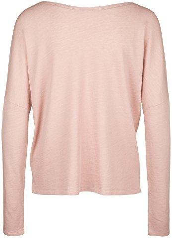 Juvia - Veste Sweat - Homewear - Uni - Manches Longues Femme mauve-cream