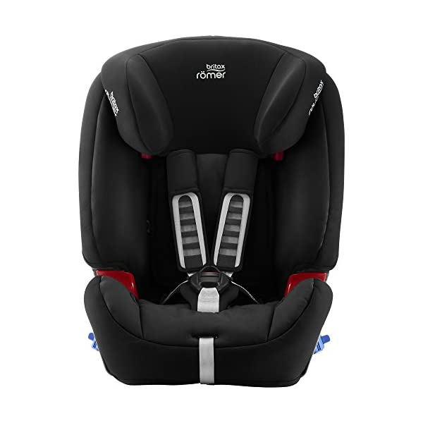Britax Römer MULTI-TECH III Car Seat (9 Months-6 Years|9-25 kg), Cosmos Black  Advanced side impact protection - the SICT feature offers superior protection to your child in the event of a side collision Extended rearward facing - rearward facing car seats offer the best protection in the event of a frontal collision - the most frequent type of accident on the roads Deep, protective side wings - the soft, padded side wings act as a protective cocoon that helps to absorb the force from a side impact, reducing the risk of injuries to your child 2